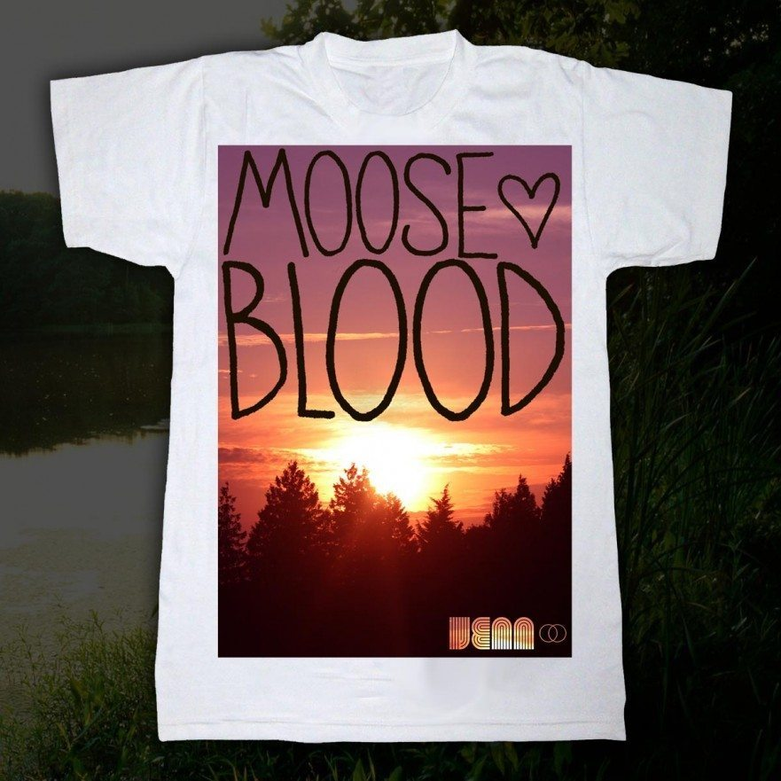 Moose Blood T-Shirt - Venn Records