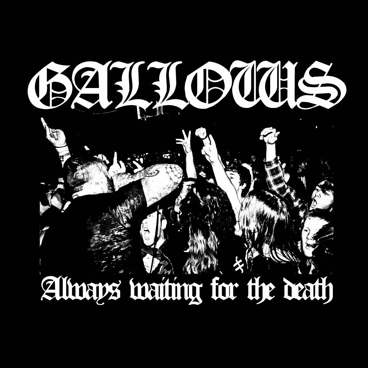 Gallows - Cross of Lorraine T-Shirt - Back (detail) - Venn Records