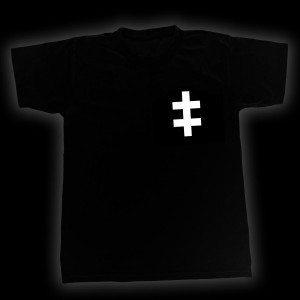 Gallows - Cross of Lorraine T-Shirt - Front - Venn Records