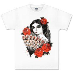 Gallows-Lady-Rose-T-shirt-Venn-Records