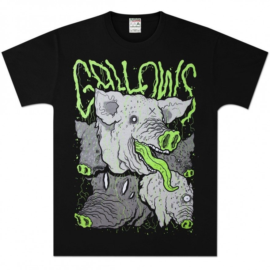 Gallows-Pig-T-shirt-Venn-Records