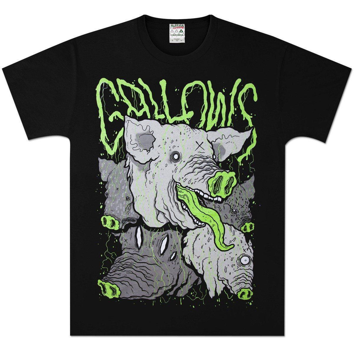 Gallows-Pig-T-shirt-Venn-Records