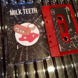 Milk Teeth Vitmains Cassette Tape Venn Records Red