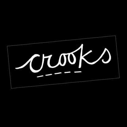 Crooks Logo Patch - Venn Records