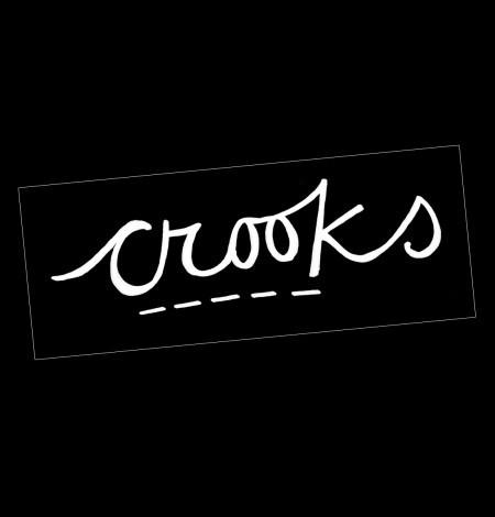 Crooks Logo Patch - Venn Records