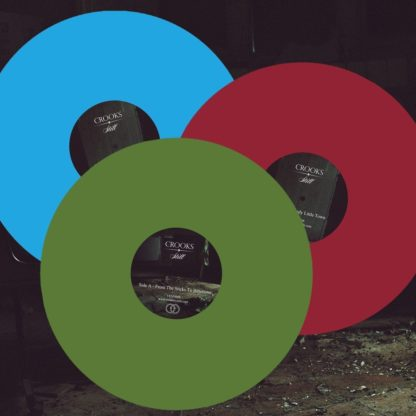 Crooks Vinyl - 3 different colour variations - Venn Records