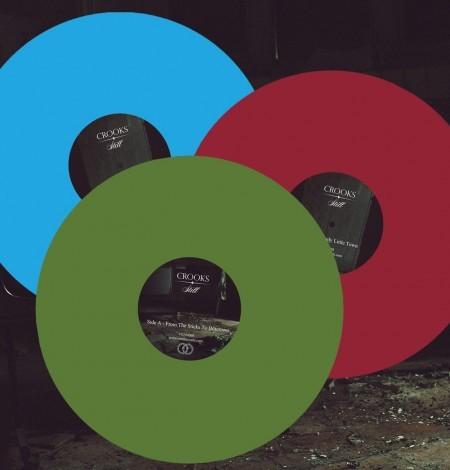 Crooks Vinyl - 3 different colour variations - Venn Records