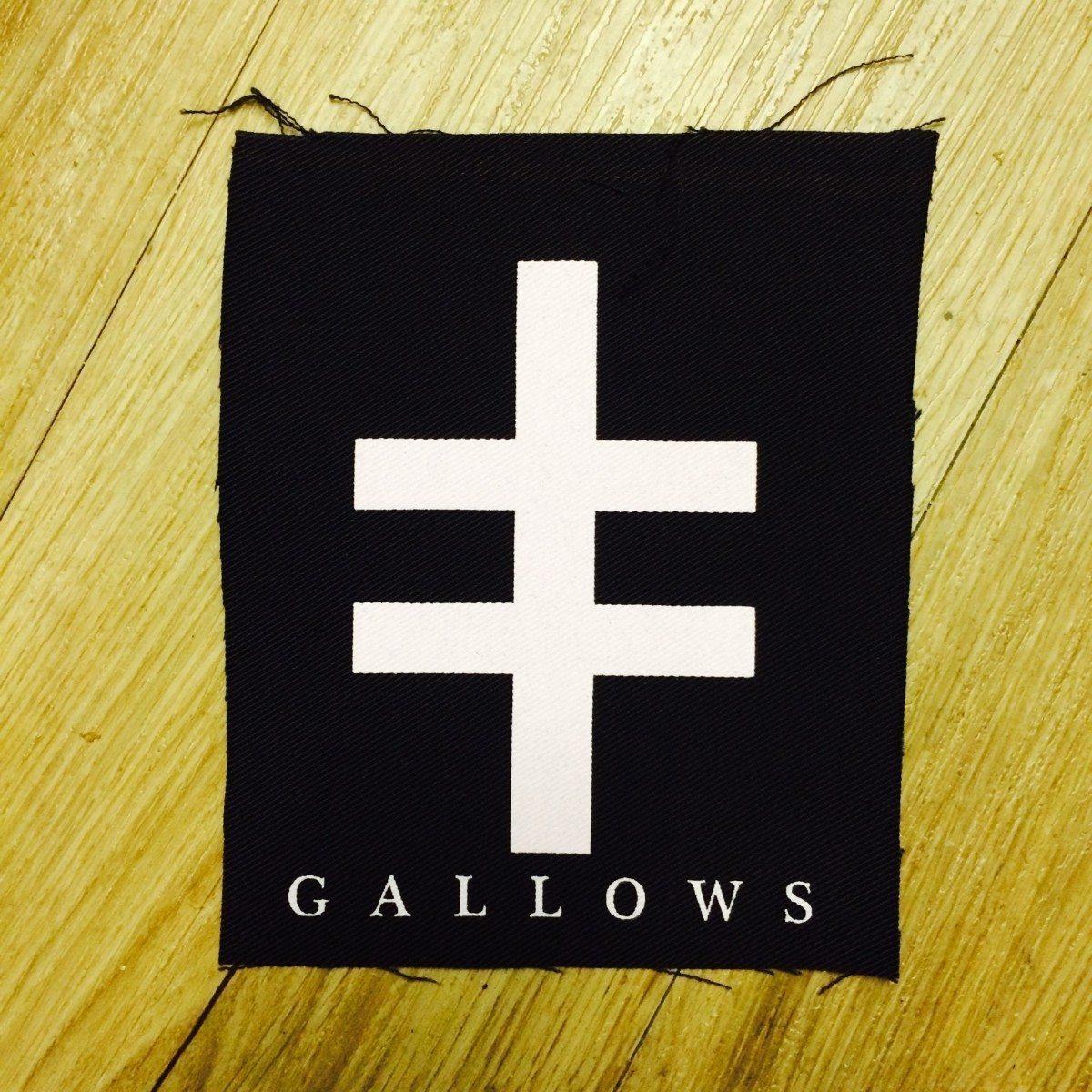 Gallows - Cross Of Lorraine Cloth Patch - Venn Records