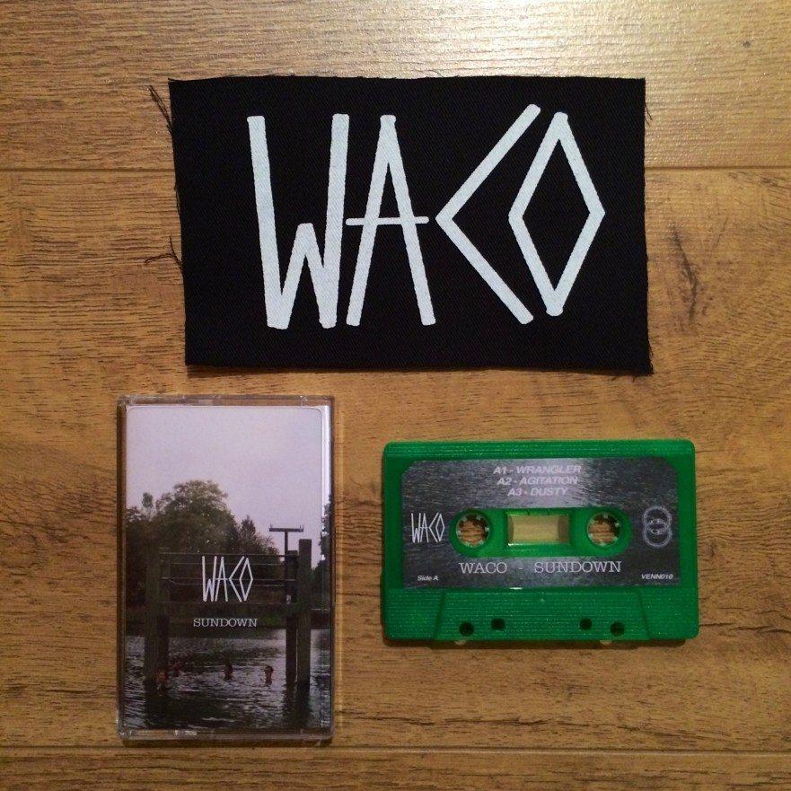 Waco Sundown - Venn Records - Tape and patch