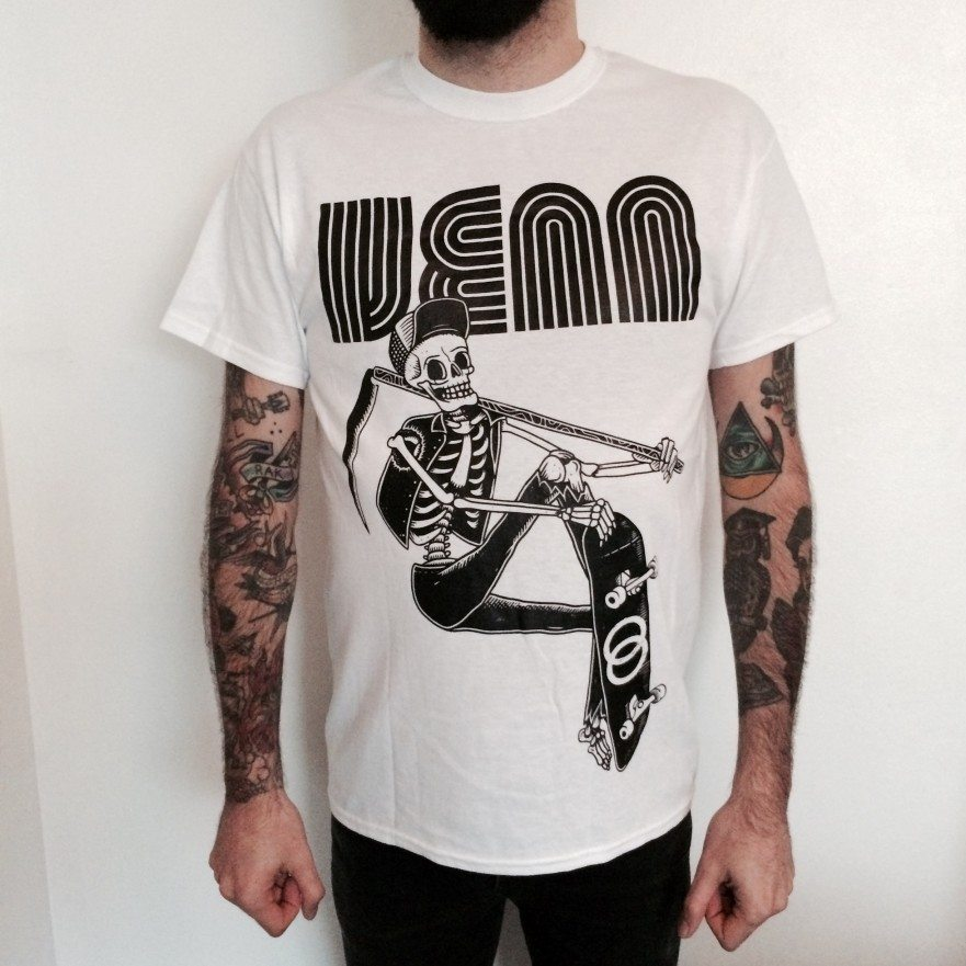 Venn Records - White Thrash - T-Shirt