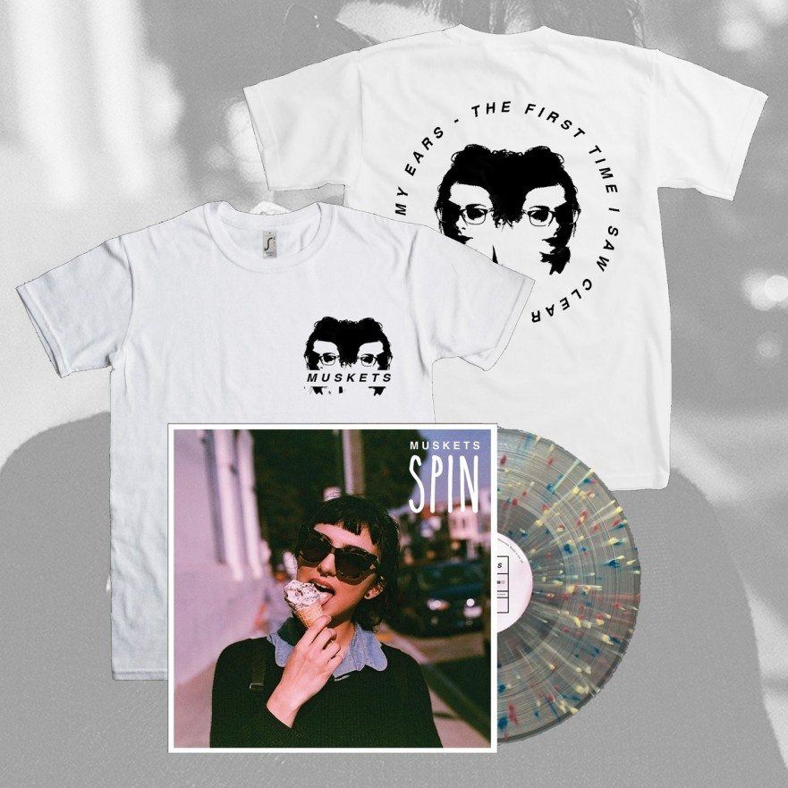 Muskets - Spin - Vinyl & T-Shirt Bundle - Venn Records