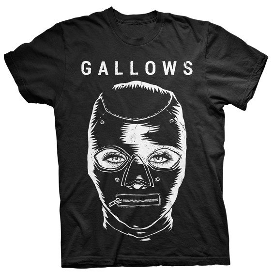 Gallows Black BDSM T-shirt - Venn Records