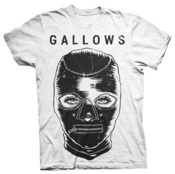 Gallows White BDSM T-shirt - Venn Records