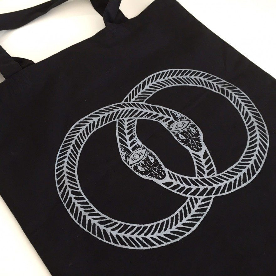 Venn Records - Snakes Tote Bag