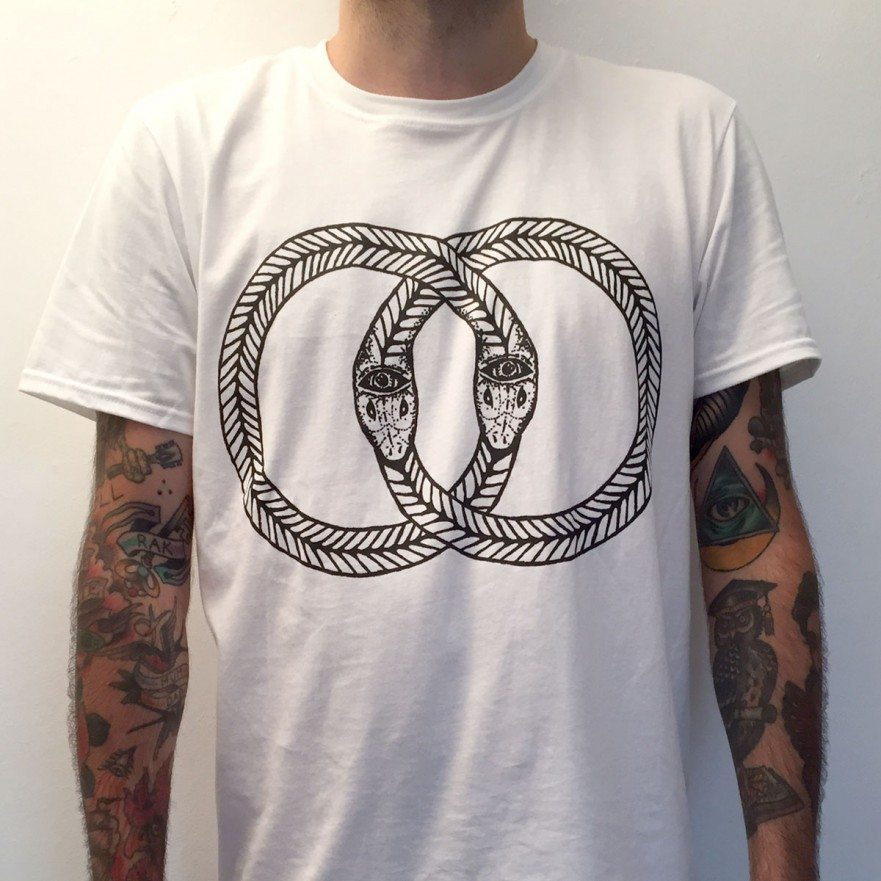 Snakes T-Shirt - Venn Records