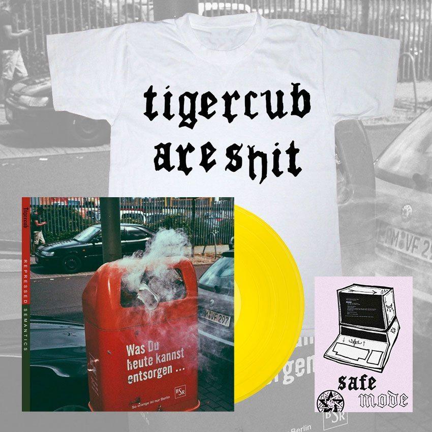 Tigercub - Repressed Semantics - Vinyl and T-Shirt Bundle - Venn Records