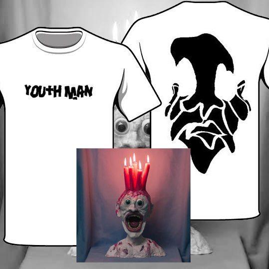 Youth Man Wax t-Shirt Venn Records