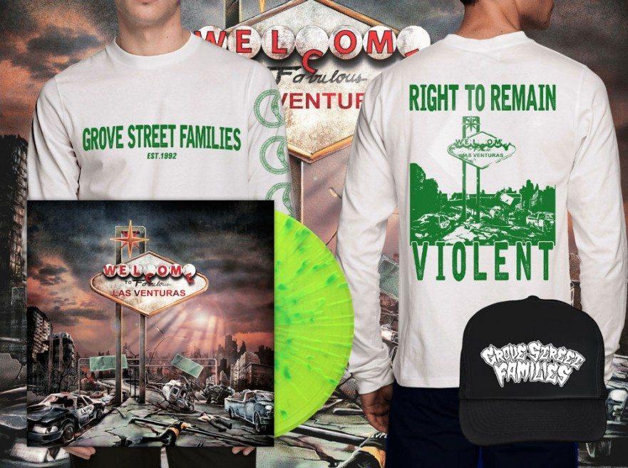 Grove Street Families - The Las Venturas EP - Vinyl Bundle - Venn Records