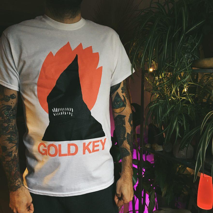 Gold-Key-Flaming-Phantom-T-shirt-Venn-Records